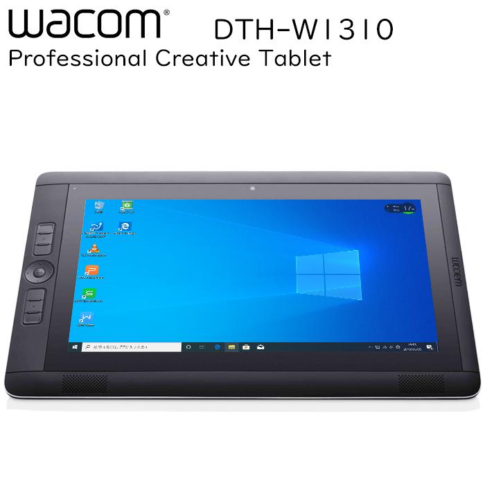 ワコム Cintiq Companion 2 DTH-W1310 第五世代Core-i7-5557U 13.3型 RAM:8GB SSD:256GB タッチ 2560x1440 Wi-Fi Bluetooth 中古タブレット 中古パソコン タブレットPC Tablet Windows10 Pro WACOM