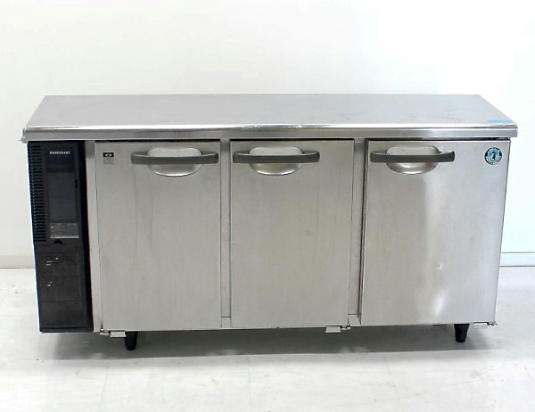 ホシザキ テーブル型冷蔵庫 RT-150PTE1 コールドテーブル 台下冷蔵庫 業務用冷蔵庫【中古】