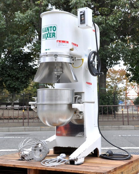 関東混合機工業 カントーミキサー HP-30M 業務用 2004年製【60Hz 西日本専用】【中古】