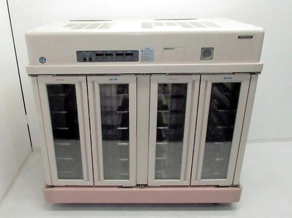 ホシザキ 手動式温冷配膳車 MSC-24LRA3-1 配膳カート 3相200V 両面タイプ 2006年製【中古】