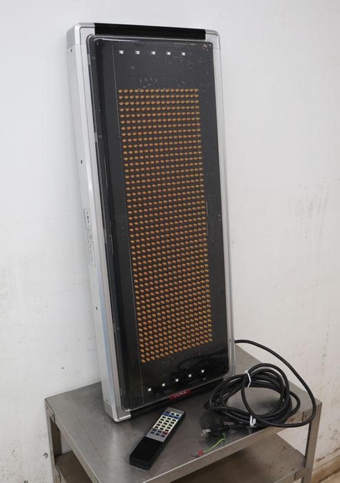TOWA トーワ LED看板 電光掲示板 表示機 電子看板 両面 LEDビジョン 電光看板 【中古】