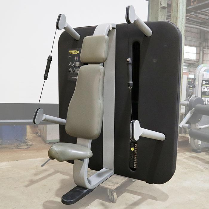 テクノジム キネシス プレス MH200M ジム エクササイズ フィットネス トレーニング マシン ステーション 【中古】