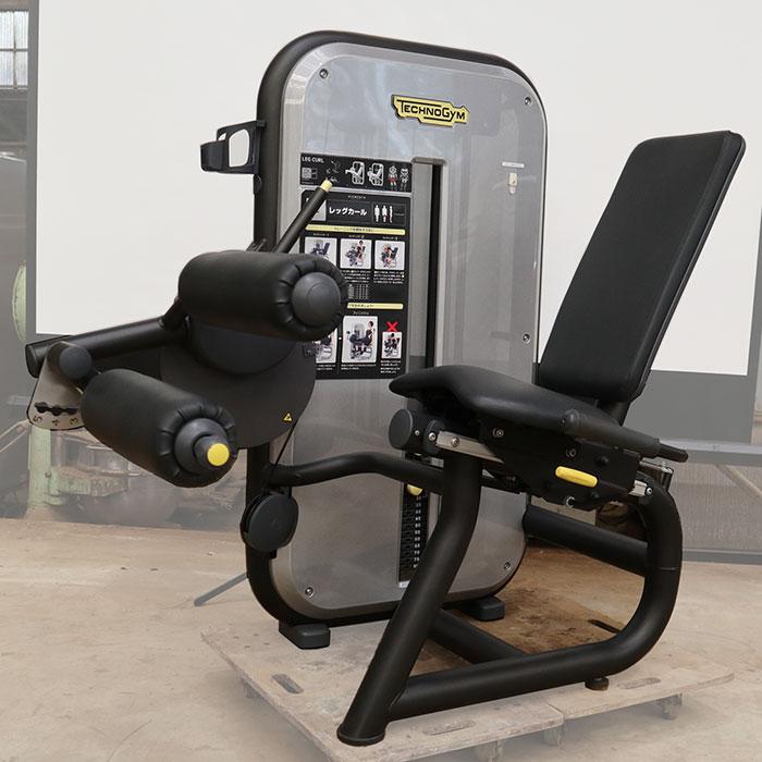 テクノジム レッグカール MB350C0 ジム エクササイズ フィットネス トレーニング マシン エレメントプラス 【中古】