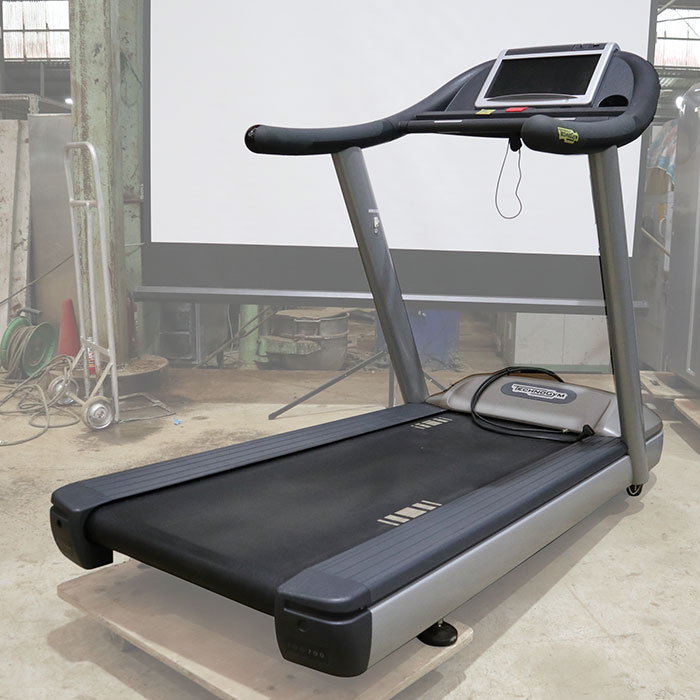 テクノジム トレッドミル ランニングマシン DAK32Y ルームランナー エクササイズ フィットネス トレーニング 【中古】