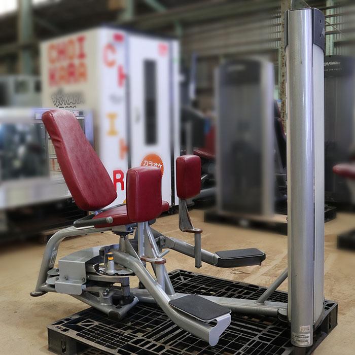 ライフフィットネス ヒップ アブダクター OSHAA ジム エクササイズ フィットネス トレーニング マシン オプティマ 【中古】
