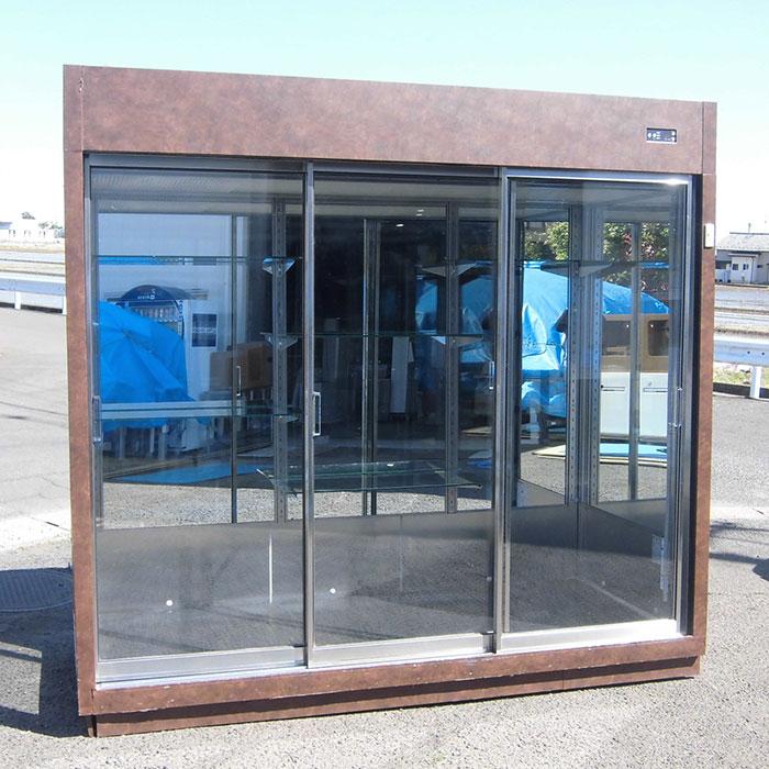 ダイワ 冷蔵フラワーショーケース DFA822-L 2002年式 カッティングシート貼り 【中古】