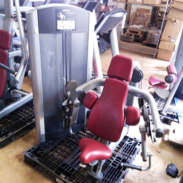 ライフフィットネス アーム・カール FZBC ジム エクササイズ フィットネス トレーニング マシン 【中古】