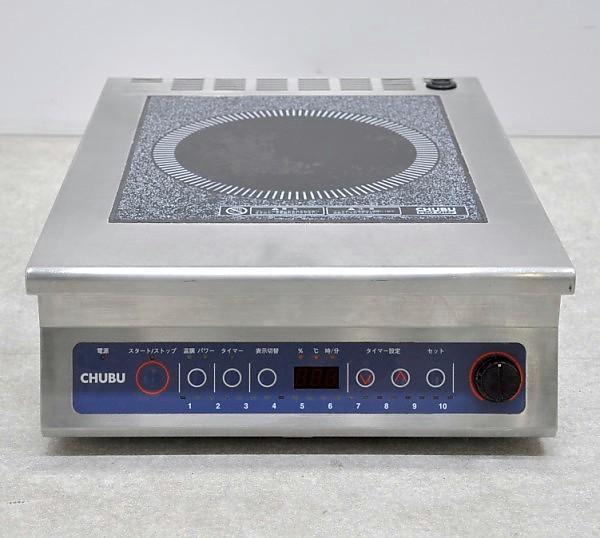 中部コーポレーション 電磁コンロ IH調理器 DD-13BA 2009年製【中古】