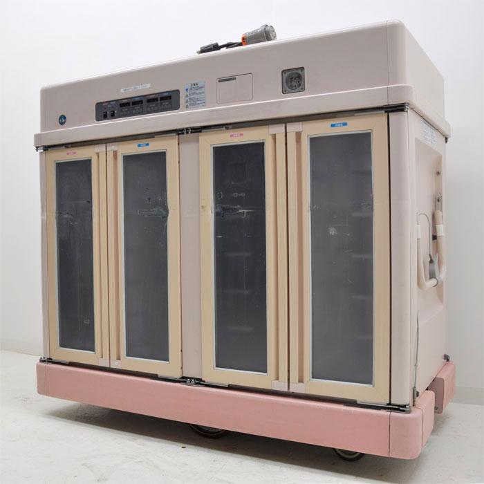 ホシザキ 業務用 手動式 温冷配膳車 配膳車 MSC-24LRA3-1 2003年【中古】