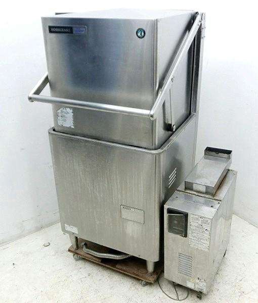 ホシザキ 業務用食器洗浄機 60Hz JW-500F WB-11KH-500 都市ガス用 ガスブースター付 2001年【中古】