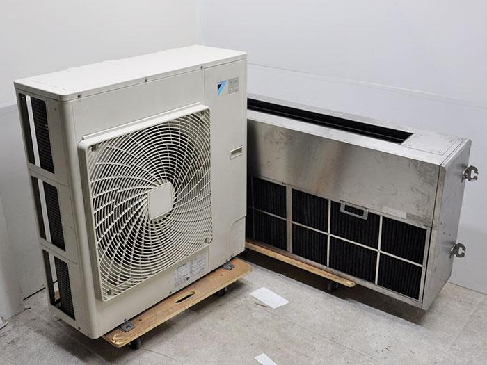 【送料無料】 ダイキン 厨房用天吊エアコン 内機FHTP140AL 外機RP140CA 中古 お客様荷下ろし 【見学 大阪】