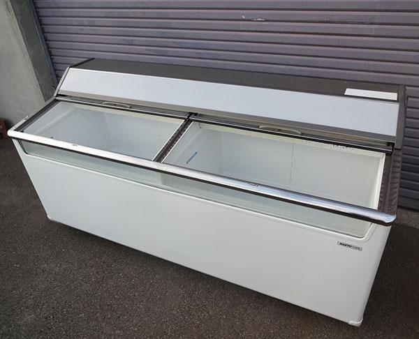 サンヨー 冷凍ショーケース SCR-1803WG 1996年 2室別設定可 【中古】