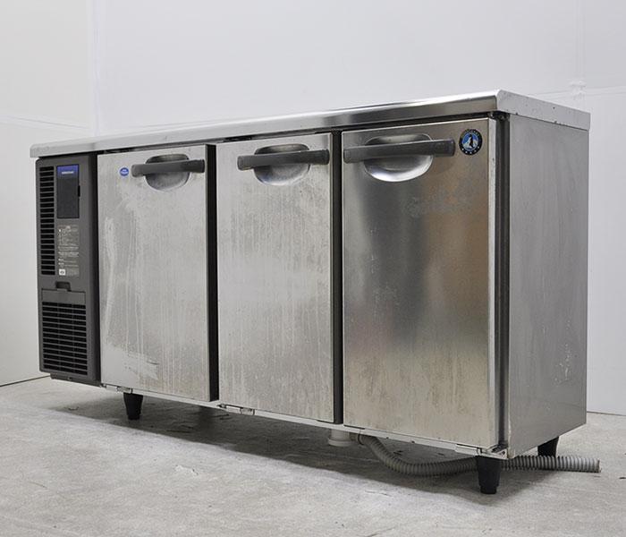 ホシザキ テーブル形 冷凍冷蔵庫 RFT-150MTF-ML 2018年 コールドテーブル 業務用 台下 【中古】
