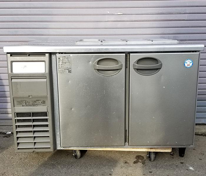 フクシマ 業務用 テーブル形冷蔵庫 ホテルパン仕様 YRW-120RM2-F(改) 2017年製 福島工業 【中古】