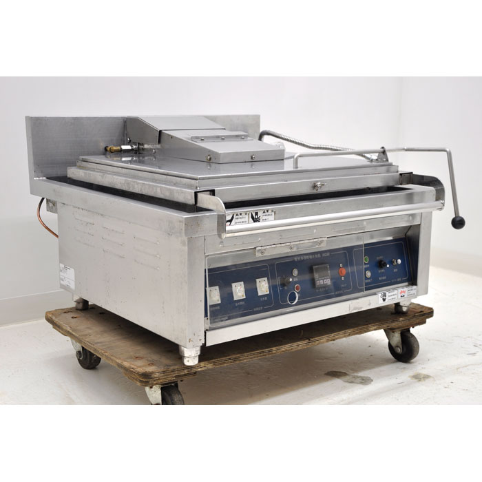 ニチワ電機 業務用 電気多目的焼物器 グリラー 焼物器 MGM-6ASP 2004年【中古】