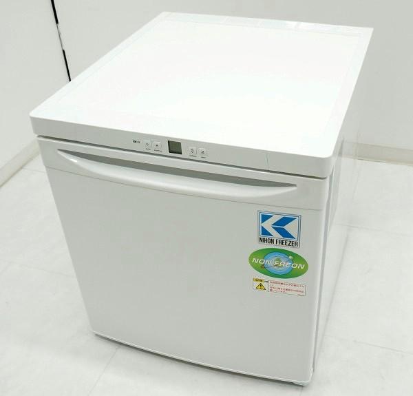 小型冷凍庫 GX-823HC ノンフロン 日本フリーザー 内装ほぼ未使用 2017年【中古】