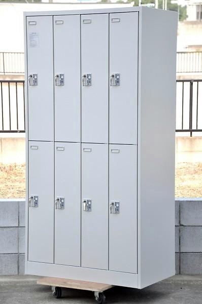 OKAMURA(オカムラ) 8人用100円リターン式ロッカー 4578FR-Z13 新中古品【中古】