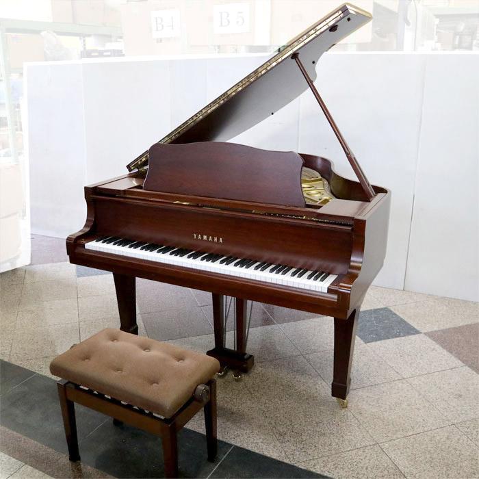 ヤマハ YAMAHA グランドピアノ【中古】 YAMAHA G2B G2B 木目 1988~1990年代 椅子付【中古】, 川俣町:c6039b5b --- odigitria-palekh.ru