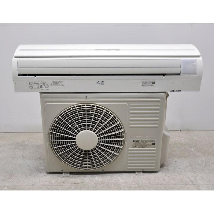日立 壁掛エアコン パッケージエアコン 室内機RPK-AP80K 室外機RAS-AP80EH 3馬力 2012年製 【中古】
