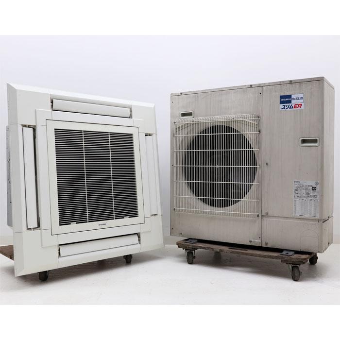 三菱電機 天カセ エアコン PUZ-ERP80HA13 PL-ERP80EA2 業務用 3馬力 2014年【中古】