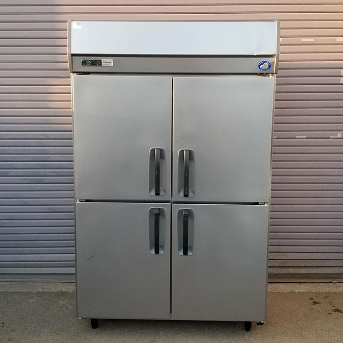 パナソニック 業務用 タテ型 冷蔵庫 SRR-J1261VSA 4枚扉 2012年 【中古】