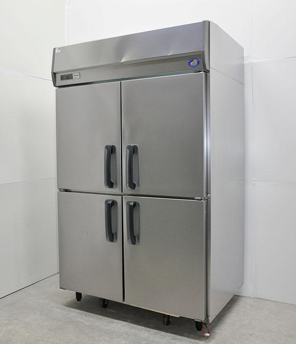 パナソニック 縦型冷凍庫 センターピラーレス 業務用 SRF-J1283VSA 2012年製 【中古】