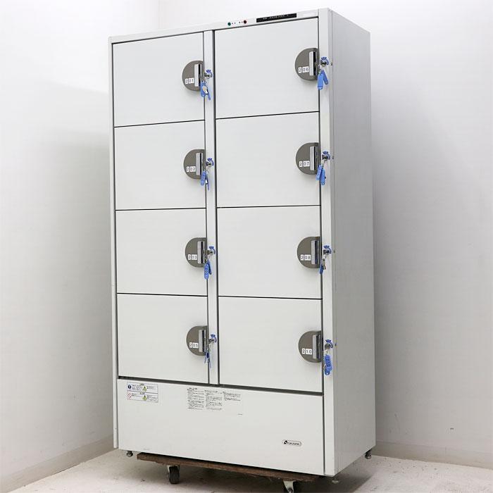 福島工業 業務用 冷蔵庫 冷蔵ロッカー HPK-8R2-1 2002年 【中古】