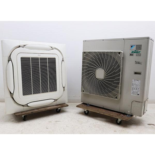 ダイキン DAIKIN 天カセエアコン RZRP80BAT FHCP80EB 2016年 業務用 店舗用 空調機器 3馬力 【中古】
