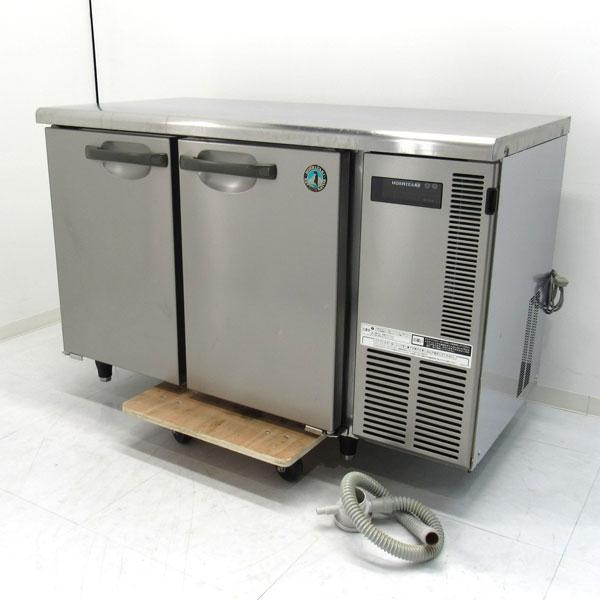 ホシザキ 業務用テーブル形冷蔵庫 RT-120NE-R 2007年式 庫内センサーライト付き 【中古】