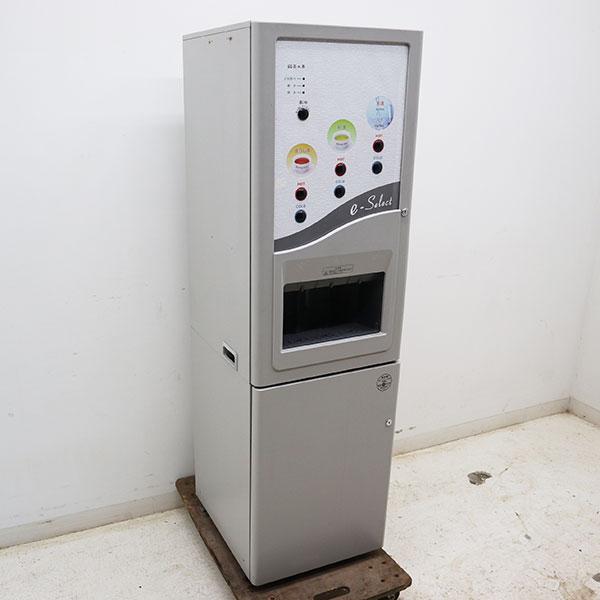 東芝 給茶機 HTC-630M 2010年 自動お茶入れ機 銘茶工房 【中古】