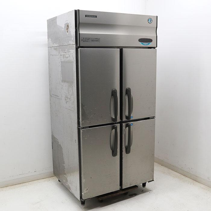 ホシザキ 業務用 冷凍冷蔵庫 HRF-90XF 2009年 タテ型 4枚扉 2室冷凍 【中古】