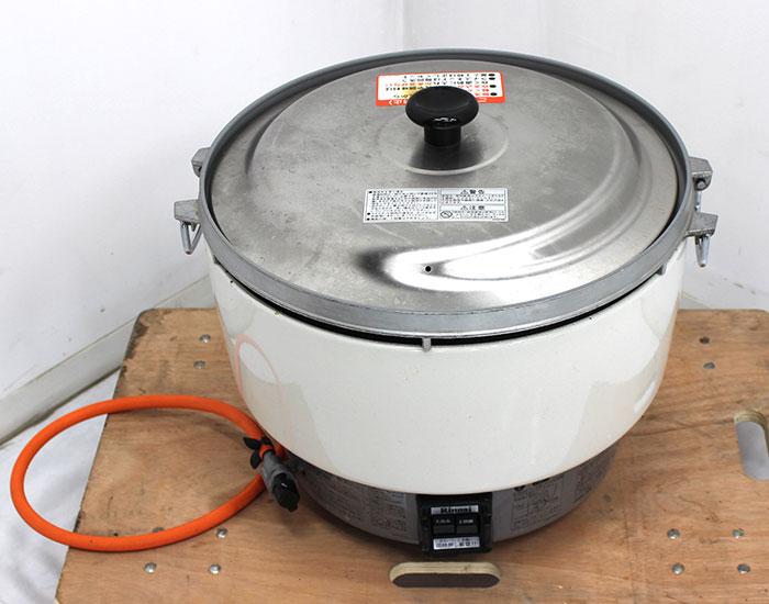 リンナイ ガス炊飯器 RR-50S1 LPガス用 業務用 【中古】