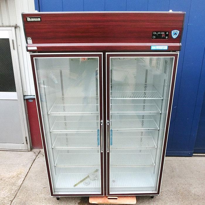 大和冷機 リーチイン冷蔵ショーケース 411YKP-EC 2011年 【中古】