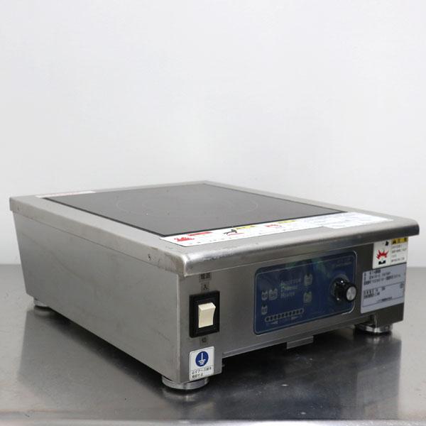ニチワ電気 卓上IH調理器 一口タイプ MIR-2.5NTMP 業務用 薄型 スリムタイプ 2014年 【中古】