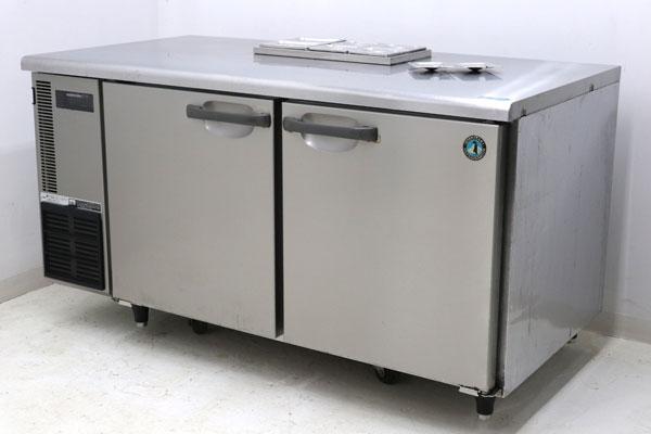 ホシザキ HOSHIZAKI 冷蔵コールドテーブル テーブル型冷蔵庫(ホテルパン付) RT-150SDE 業務用 店舗用 厨房機器 2008年 【中古】