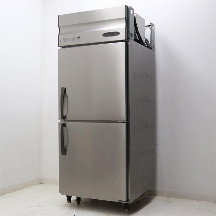 サンデン 縦型冷蔵庫 HF-75X3-SM 2010年 業務用 店舗用 厨房機器 【中古】