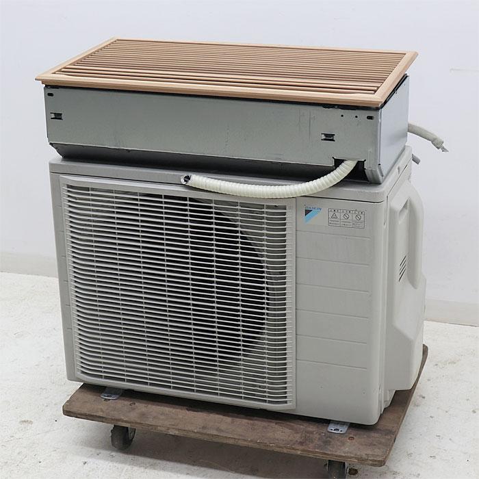 ダイキン 天カセ ルームエアコン ハウジングエアコン F40NMV R40NMV 和風パネル 2014年 【中古】