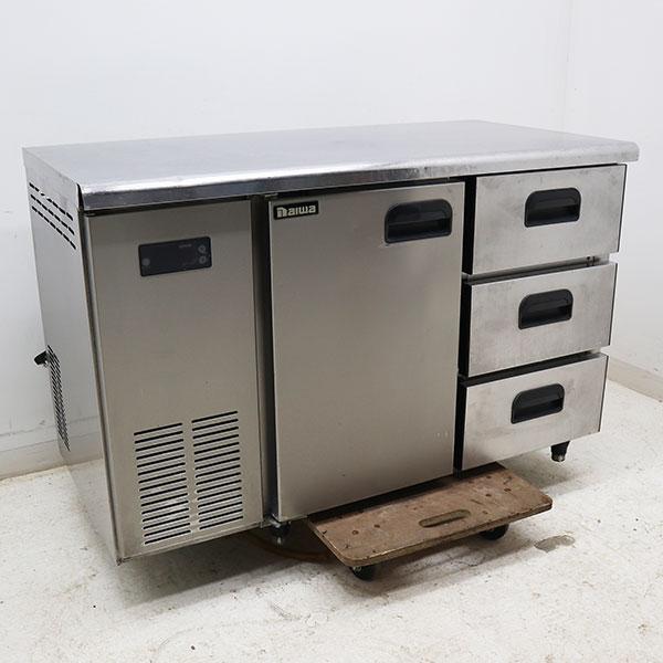 ダイワ コールドテーブル台下冷蔵庫ドロワー付き 4461-CD3-1 2006年 【中古】