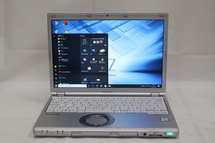 あす楽対応 即日発送可 送料無料 豊富な品 激安 12インチ WUXGA 松下 CF-SZ6RDCVS Win10 Windows10 Bluetooth カメラ リカバリ領域有 日本製 中古パソコン 320G 無線 4G 良品 Office有 七世代i5