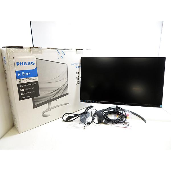 PHILIPS/フィリップス 276E8VJSB/96 27型ワイド 液晶ディスプレイ4K UHD(3840×2160) 【中古】