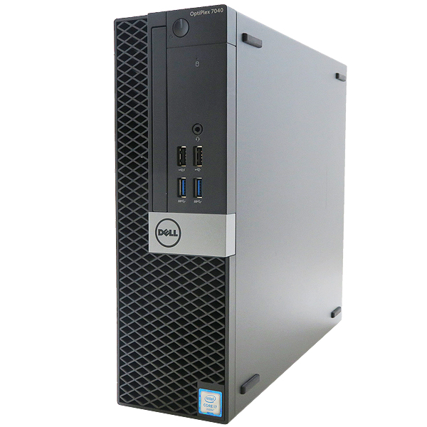 DELL OPTIPLEX 7040 SFF【Core i7-6700/8GB/256GB(NVMe SSD)/Win10-64bit】【中古】