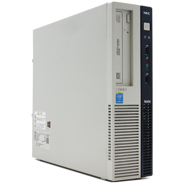 【中古パソコン】NECMate タイプMLMJ36L/L-M【Core i3 4160/4GB/500GB】【DVDマルチ/Windows10 64bit】【送料無料※沖縄・離島を除く】