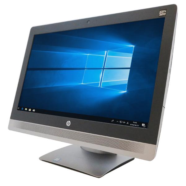 HP Pro One 600 G2 All-in-One【Corei5 6500(3.20GHz 4コア)/8GB/500GB/21.5型FHD/Win10 64bit】【中古】【送料無料※沖縄・離島を除く】