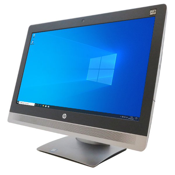 HP Pro One 600 G2 All-in-One【Corei3 6100(3.70GHz 2コア4スレッド)/4GB/500GB/21.5型FHD/Win10 64bit】【中古】