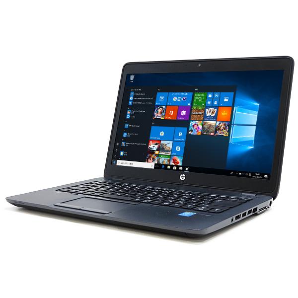 HP ZBook 14 Mobile Workstation【Core i7 4600U/16GB/500GB】【AMD FirePro M4100/14型フルHD】【無線LAN/Windows10 64bit】【送料無料】(沖縄、離島を除く)【中古】