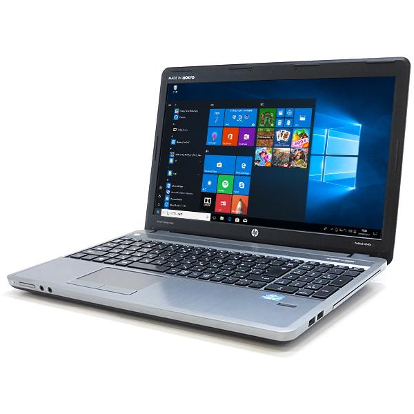 HEWLETT PACKARD ProBook 4540s【Core i5 3230M/8GB/SSD256GB(新品)/Wi-Fi/BT】【Win10 64bit(アップグレードモデル)】【中古】【送料無料】※沖縄県・離島を除く