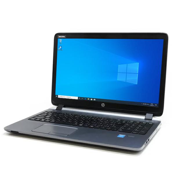 HEWLETT PACKARD ProBook 450 G2【Core i5-5200U/4GB/500GB】【WEBカメラ/DVDマルチ/Win10-64bit/テンキー】【中古】【送料無料】(沖縄、離島を除く)