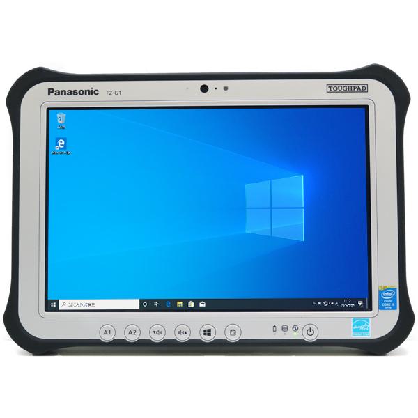 Panasonic TOUGHPAD FZ-G1【Core i5 4310U/4GB/SSD/ Win10/LTE/タッチパネル】【中古】【無線LAN】【送料無料】(沖縄、離島を除く)