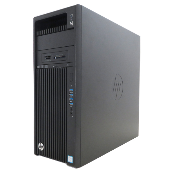 hp Z440 WorkStation 【Xeon E5-1620 V3(3.50GHz/4コア/8スレッド)/8GB/256GB/Quadro K2200/Windows10 64bit】【中古】