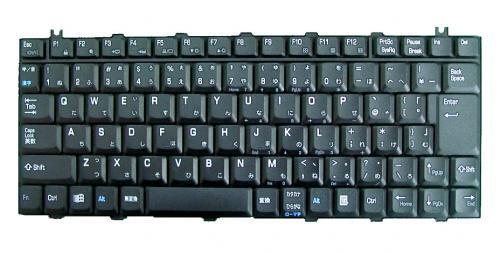 東芝 Satelite 1850用 ノートパソコン キーボード NSK-T300J 新品 黒 〔対応機種〕・Satelite 1850